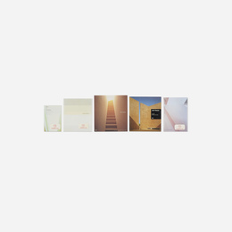 John Pawson monographs, five (four signed)