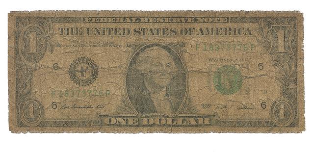 , 'US $1,' 2017, Dillon + Lee