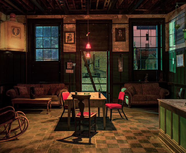 , 'Back Room at the Harmony Club, Selma, AL,' 2017, Yancey Richardson Gallery