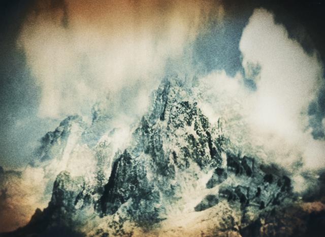 , 'Nuptse peak, Himalaya,' 2016, CFHILL