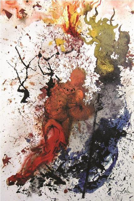 Salvador Dalí, 'The Bush That Was Not Burnt', 1967, Baterbys