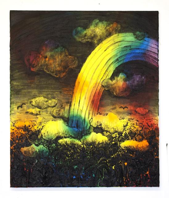 Willem Weismann, 'Tropical Rainbow (midnight)', 2014, Quadrado Azul