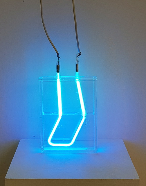 , 'Refracted, Submerged Neon,' 2018, Anise Gallery