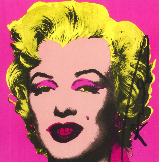 Andy Warhol, 'Marilyn Monroe - Invitation Card', 1981, Print, Colored serigraphy on paper, Bertolami Fine Arts