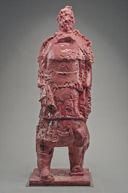 Wanxin Zhang, 'Pink Warrior', 2013, Catharine Clark Gallery