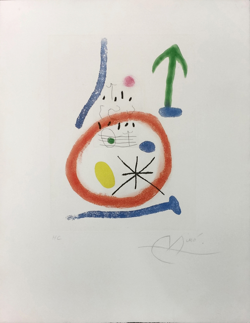 Joan Miró, 'CHEMIN DE RONDE III', 1966, Gallery Art