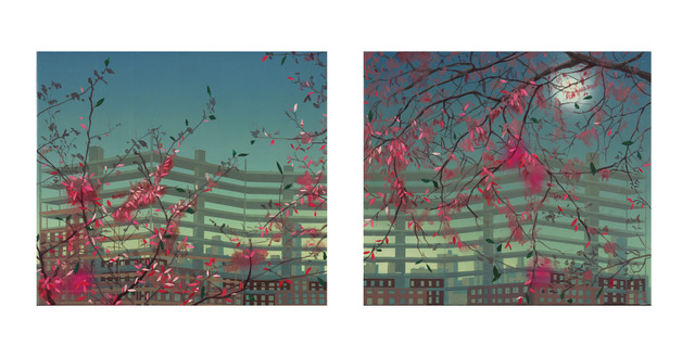 Robert Minervini, 'Cherry Blossoms Over the Night Sky', 2013, Marine Projects