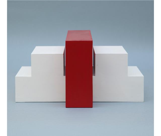 Noemi Escandell, 'Estructura variable con escalones y volumen rojo', 1966, Herlitzka + Faria