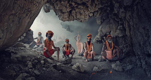 , 'XXIV 1, Cave, Haridwar, India,' 2016, Bryce Wolkowitz Gallery