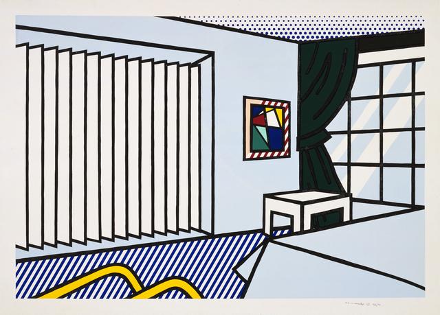 Roy Lichtenstein, 'Bedroom', 1991, Print, 10-color woodcut and screenprint, Gemini G.E.L. at Joni Moisant Weyl