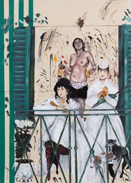 , 'Cafajestes,' 2015, Zipper Galeria