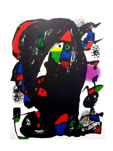"""Joan Miró, 'Original Lithograph """"Abstract Composition I"""" by Joan Miro', 1981, Galerie Philia"""