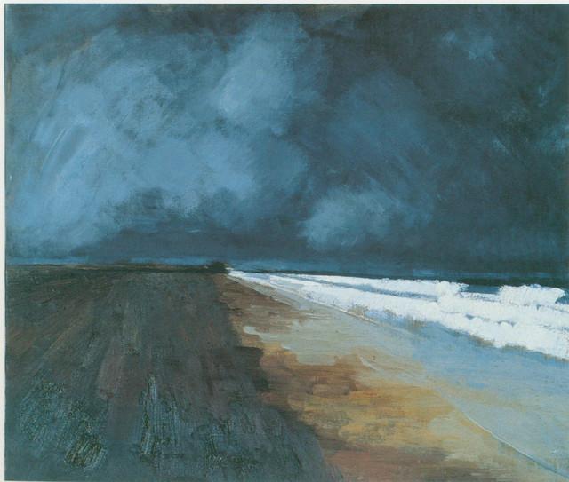 , 'Beach and Sea Seaton Carew,' 1956, Bernard Jacobson Gallery