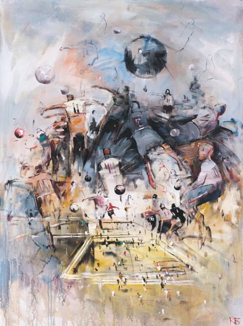 ", '""Football"" 10,' 2018, Krokin Gallery"
