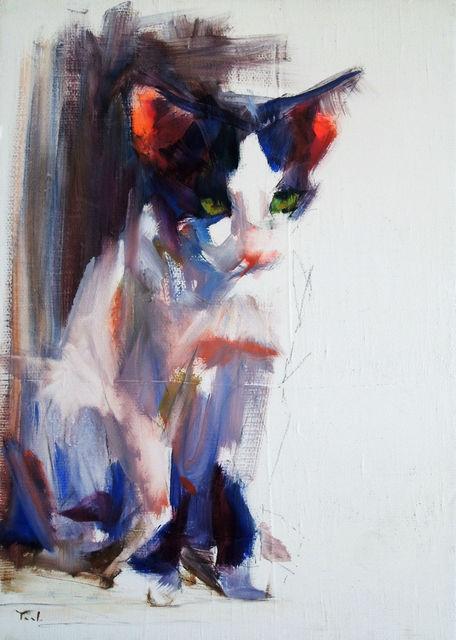 , 'Kitten Study,' 2015, Abend Gallery
