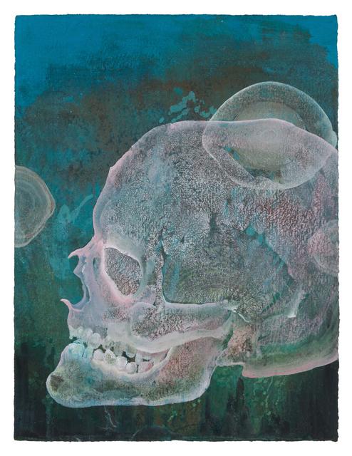 , 'Pink Skull Study,' 2017, DC Moore Gallery