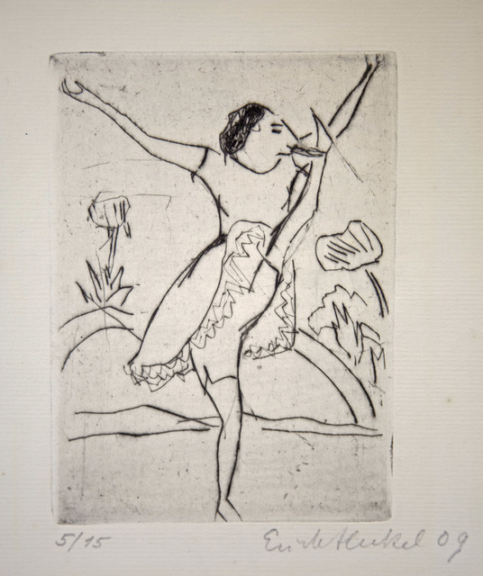 , 'Römische Tänzerin,' 1909, Henze & Ketterer