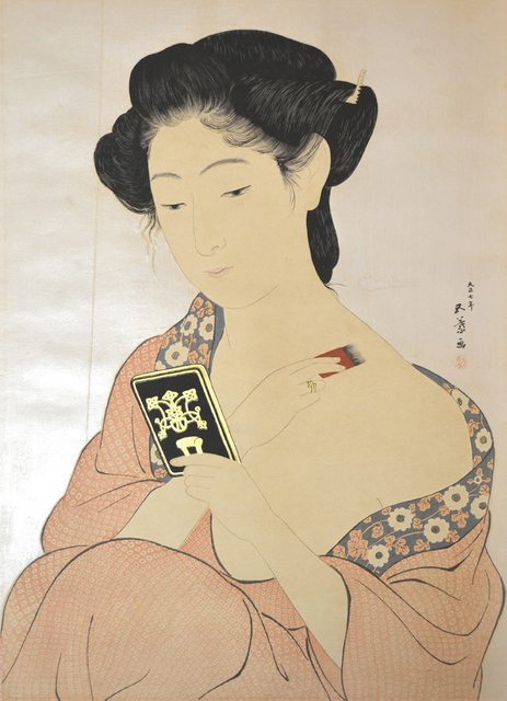 , 'Woman Applying Powder,' 1918, Ronin Gallery