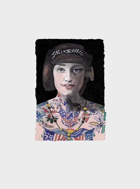 , 'Tattooed People, Grace,' 2015, Joanna Bryant & Julian Page