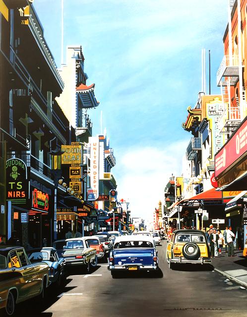 , 'San Francisco chinatown,' 2017, Galerie Artefact