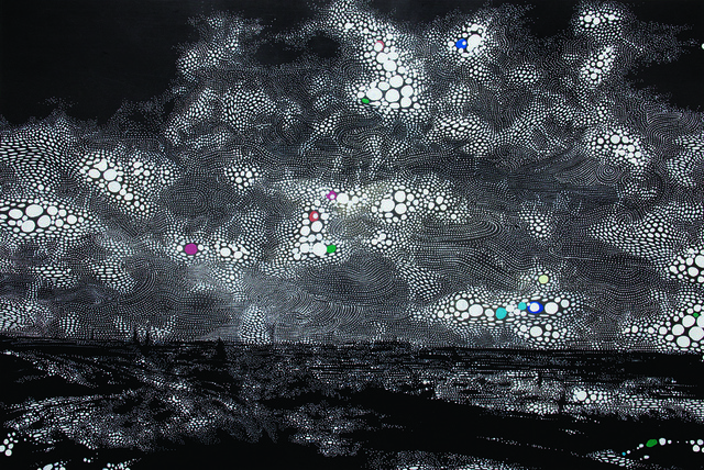 , 'Haarlem's Starry Night,' 2008, Fort Worth Contemporary Arts