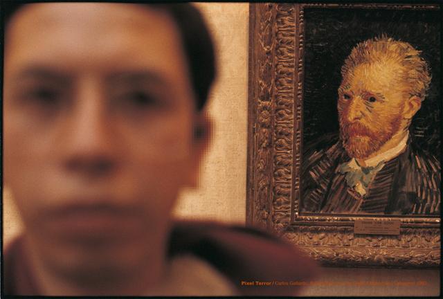 , 'Pixel Terror, Autorretrato con Van Gogh,' 1982, Isabel Croxatto Galería