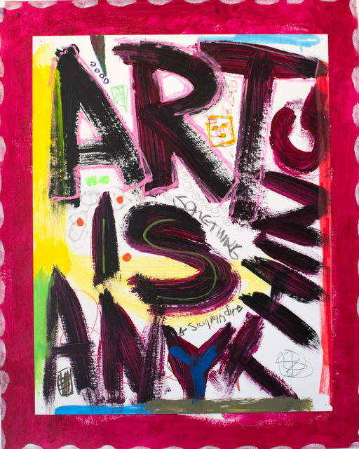 , 'Art is Anything (Magenta),' 2015, ArtHelix Gallery