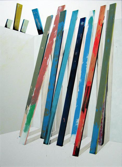 """, 'Lá atrás (da série """"Backstage of light""""),' 2013, Carlos Carvalho- Arte Contemporanea"""