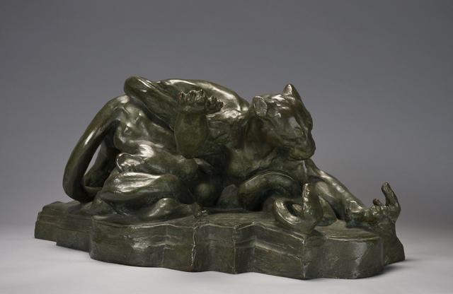 Arthur Putnam, 'Combat: Puma and Serpents,', 1906, de Young Museum