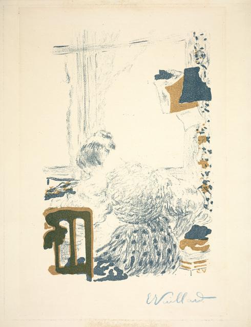 Édouard Vuillard, 'The Dressmaker (La Couturière) from Album de la Revue Blanche', 1895, Dallas Museum of Art