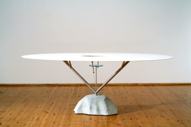 ", '""Flying table"",' 2006, Casati Gallery"