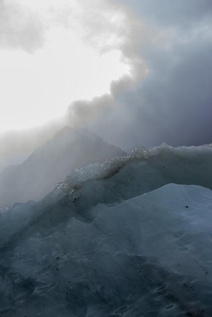 , 'Ice Calf, Glacial Lake Below Mount Cook, New Zealand, Autumn,' 2018, Huxley-Parlour