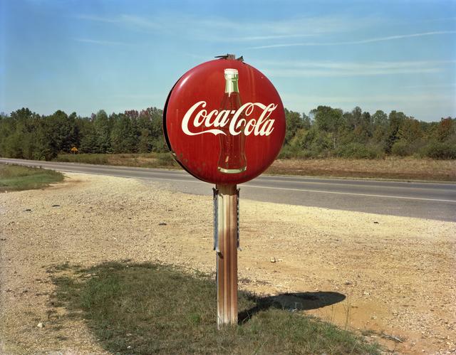 Jim Dow, 'Coca-Cola Sign on Highway, US 78, Burnsville, Mississippi', 1978, Robert Klein Gallery