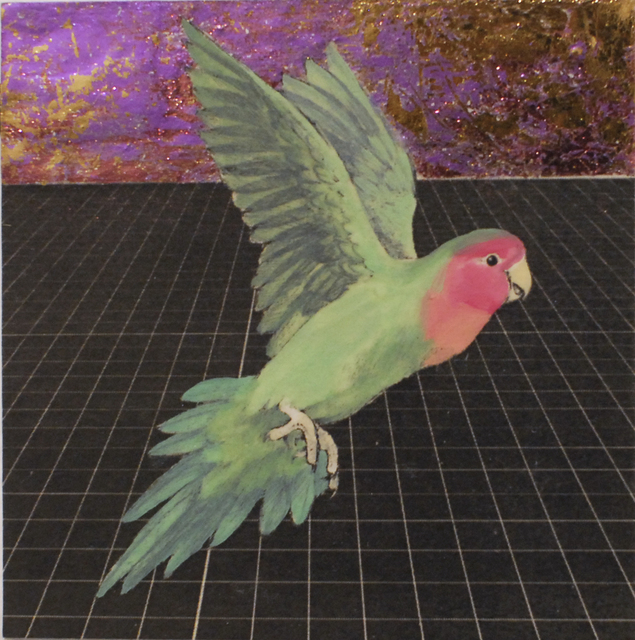 Alexis Kandra, 'Peach Faced Lovebird', 2019, Deep Space Gallery