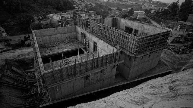 , 'Programa II: Bloques – No nos fuimos o en construcción,' 2014, Galería OMR