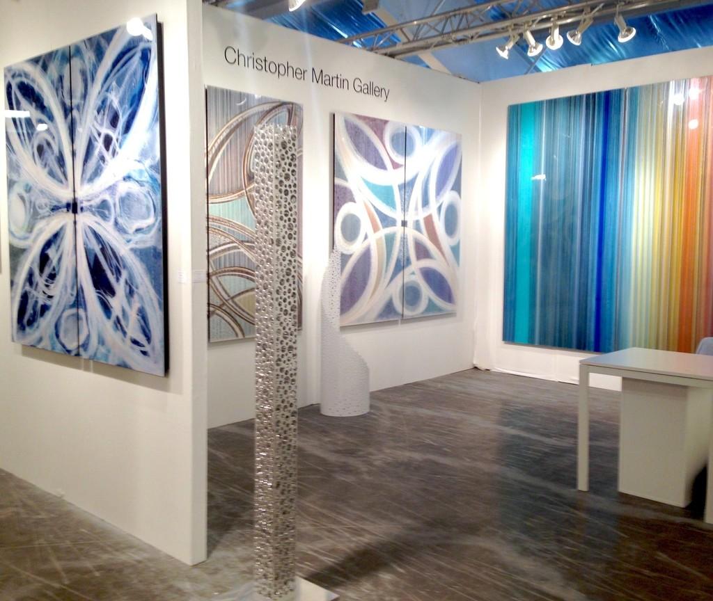 Christopher Martin Gallery at Art Aspen 2015