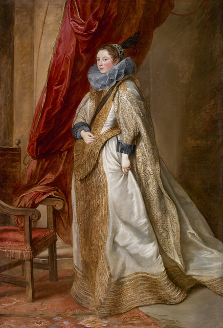 Anthony van Dyck, 'Genoese Noblewoman', 1625-1627, The Frick Collection