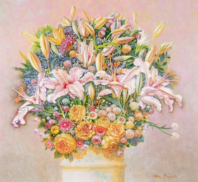 Morton Kaish, 'Lillies and Roses', 2006, Fritz Gallery