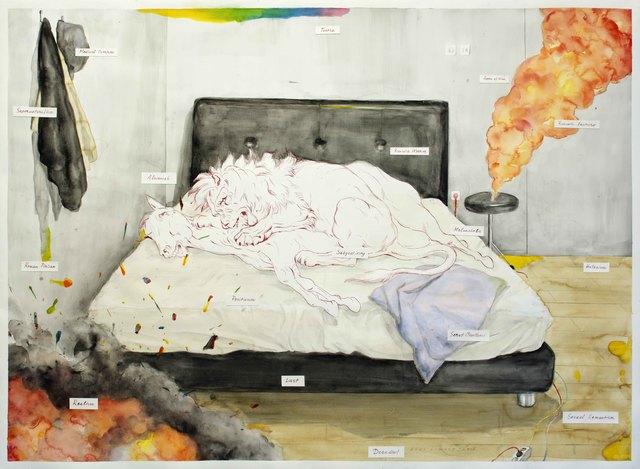 , 'Fragmen Tempat Tidur - After Raden Saleh,' 2016, Tyler Rollins Fine Art