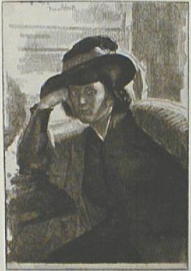, 'Une Dacquoise (Anais),' 1922, Paramour Fine Arts