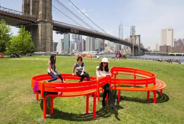 Jeppe Hein, 'Modified Social Bench #06', 2015, Public Art Fund