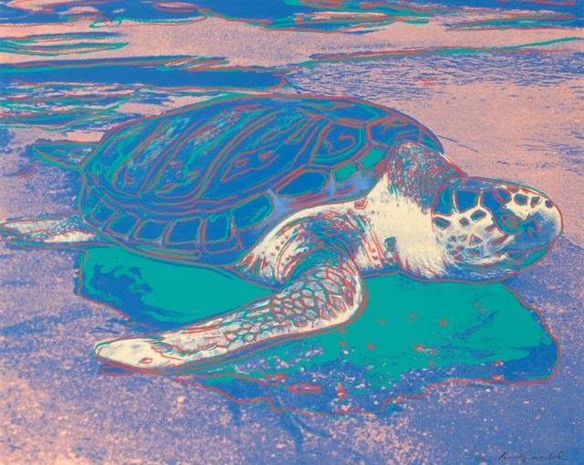 Andy Warhol, 'Turtle (FS II.360A)', 1985, Gormleys Fine Art