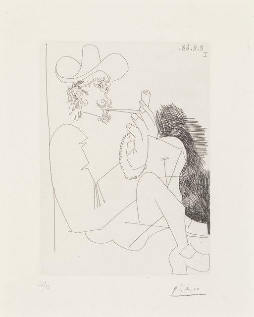 Pablo Picasso, 'Homme rembranesque à la pipe, from Séries 347', 1968, Heritage Auctions
