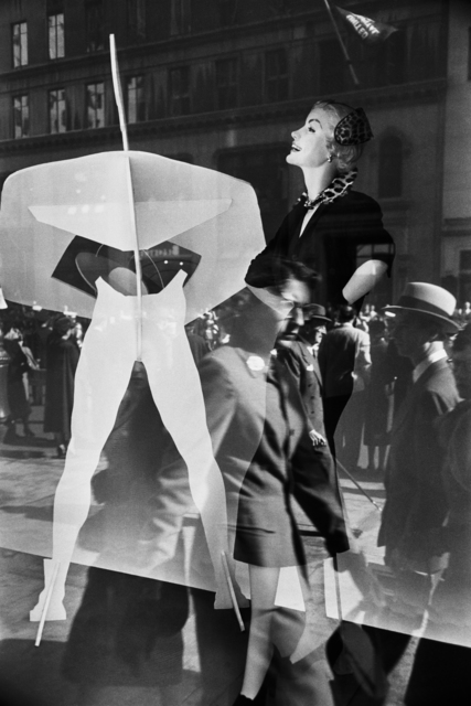 , 'Reflection in store window, New York, USA ,' 1953, David Hill Gallery