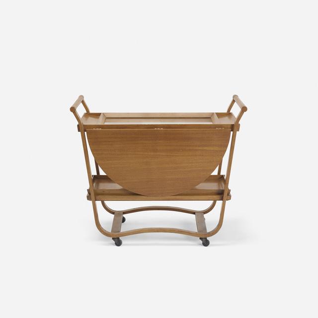 Edward Wormley, 'Drop leaf tea cart, model 4487', c. 1945, Wright