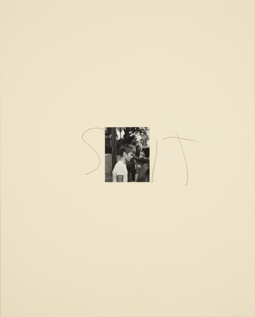 , 'Sit,' 1989, Casemore Kirkeby