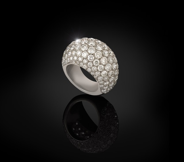 , 'Platinum and diamonds ring,' ca. 1950, Wartski
