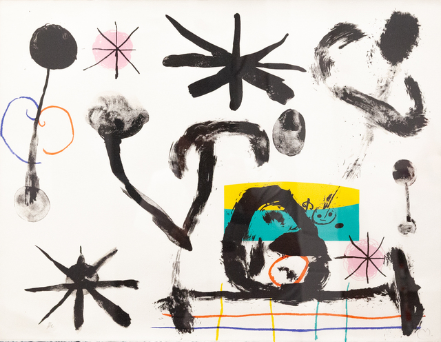 Joan Miró, 'Album 10', 1961, Artrust