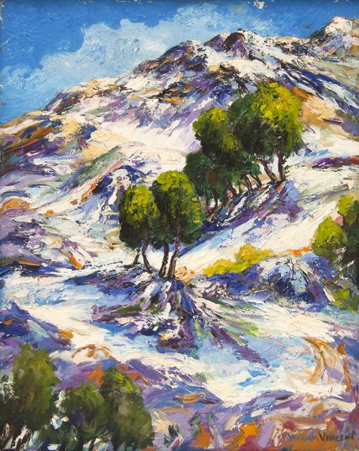 William Vincent Kirkpatrick, 'Snow Peaks', Baterbys Art Gallery