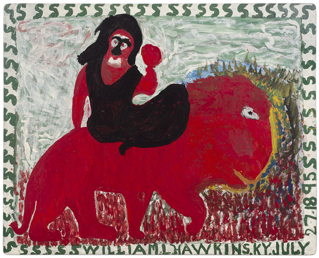 , 'Untitled (Figure on animal),' , Anna Zorina Gallery